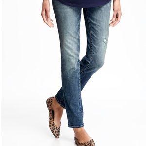 Old Navy maternity skinny jeans size 4